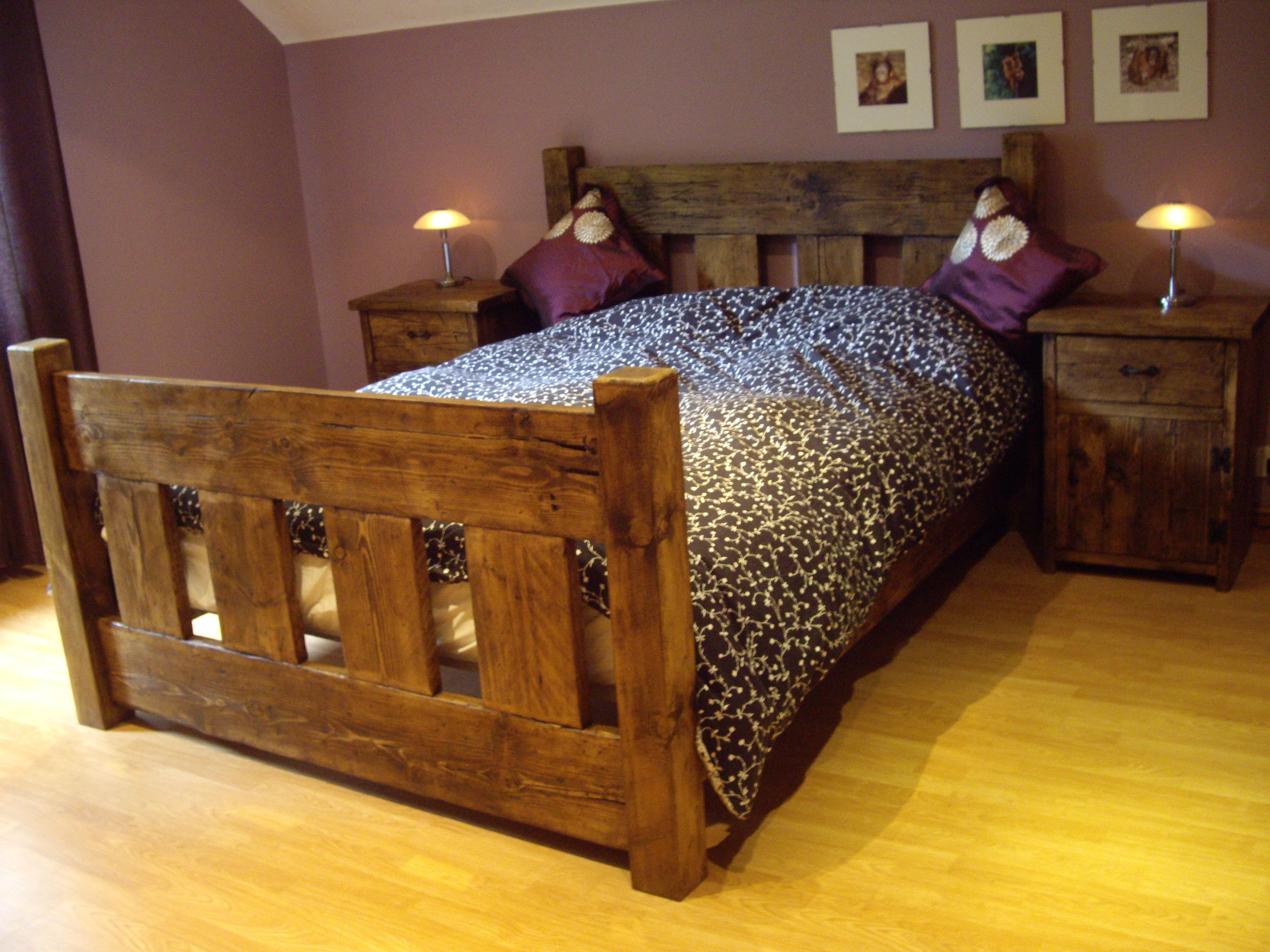 Best Ur Farmhouse Slat Beds Can Be Made To Any Size Or Height 400 x 300