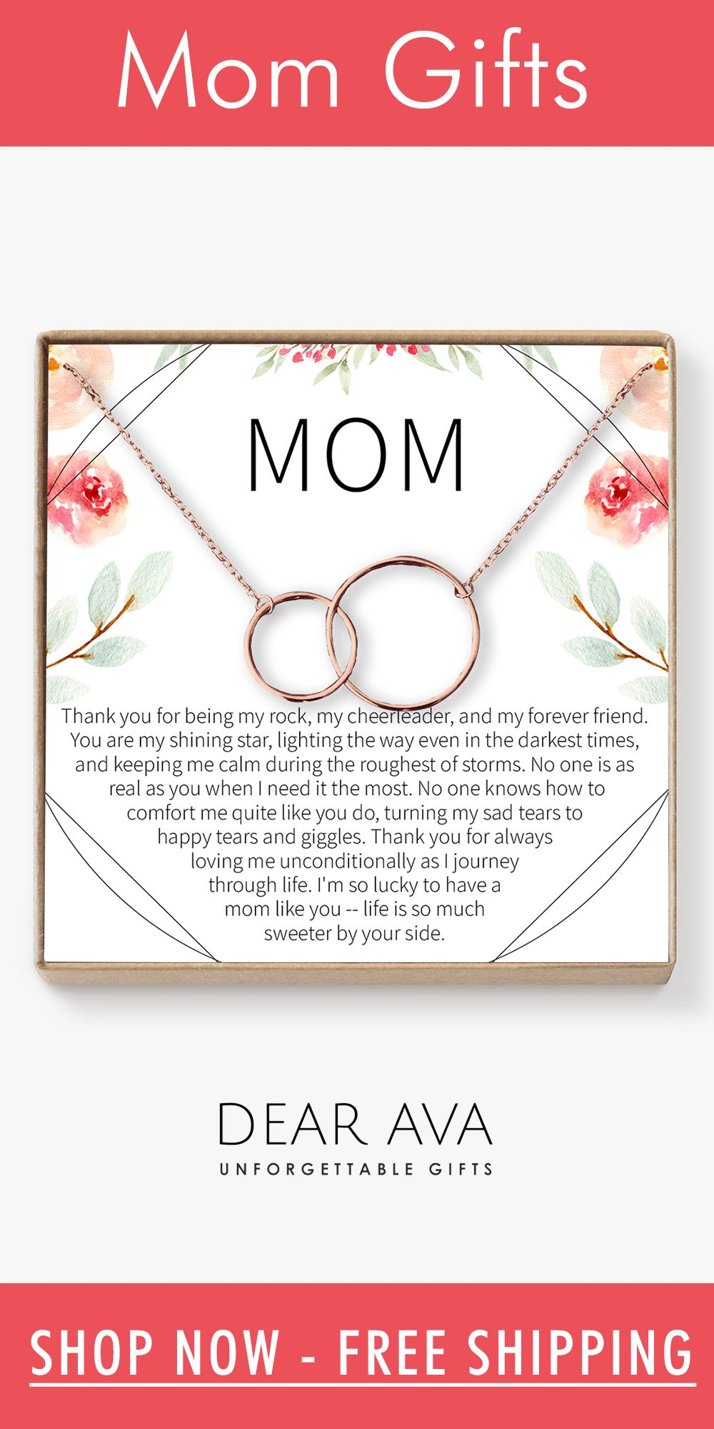 Mom necklace multiple styles mom birthday gift