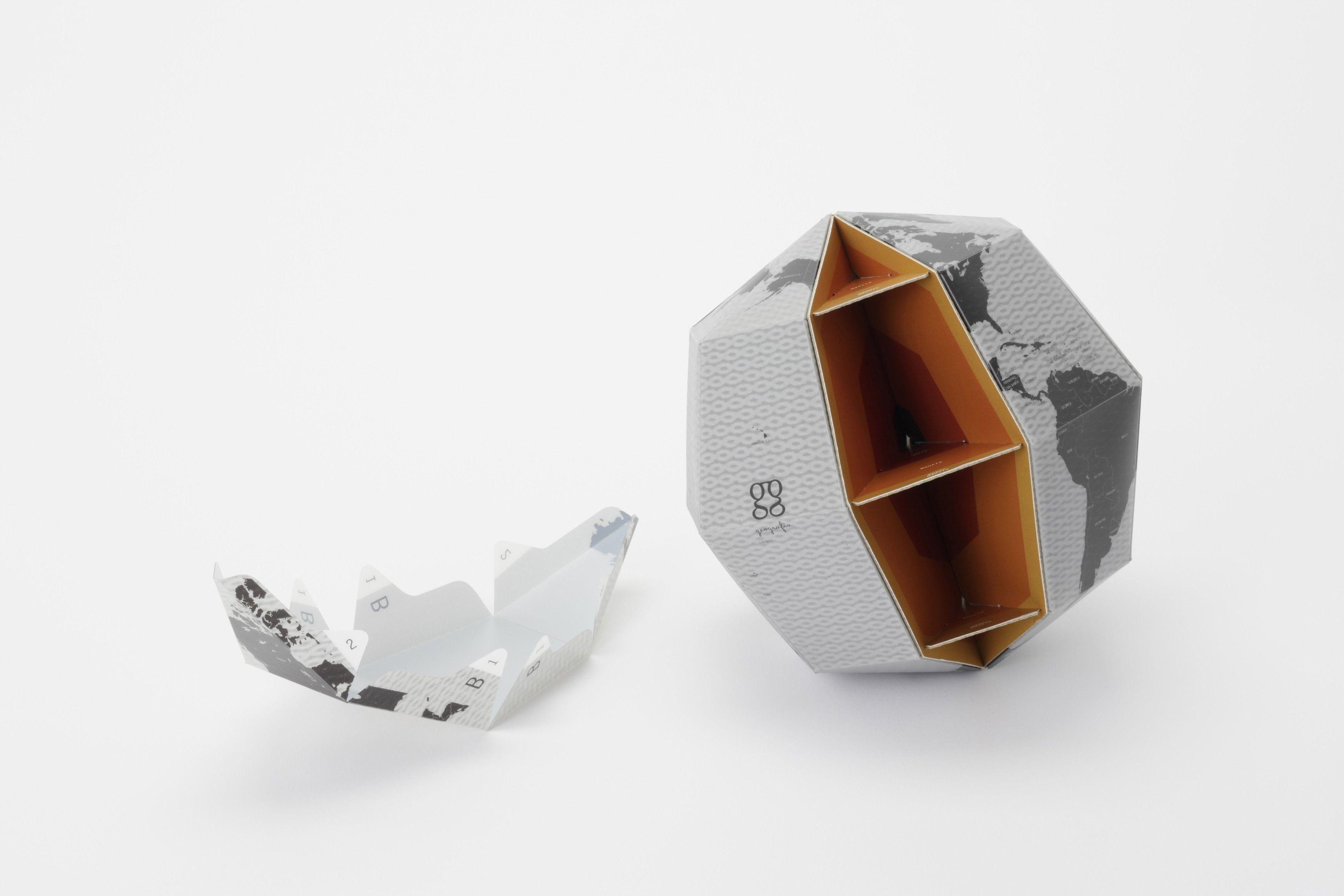Sectional Globe 3D | Gestalten