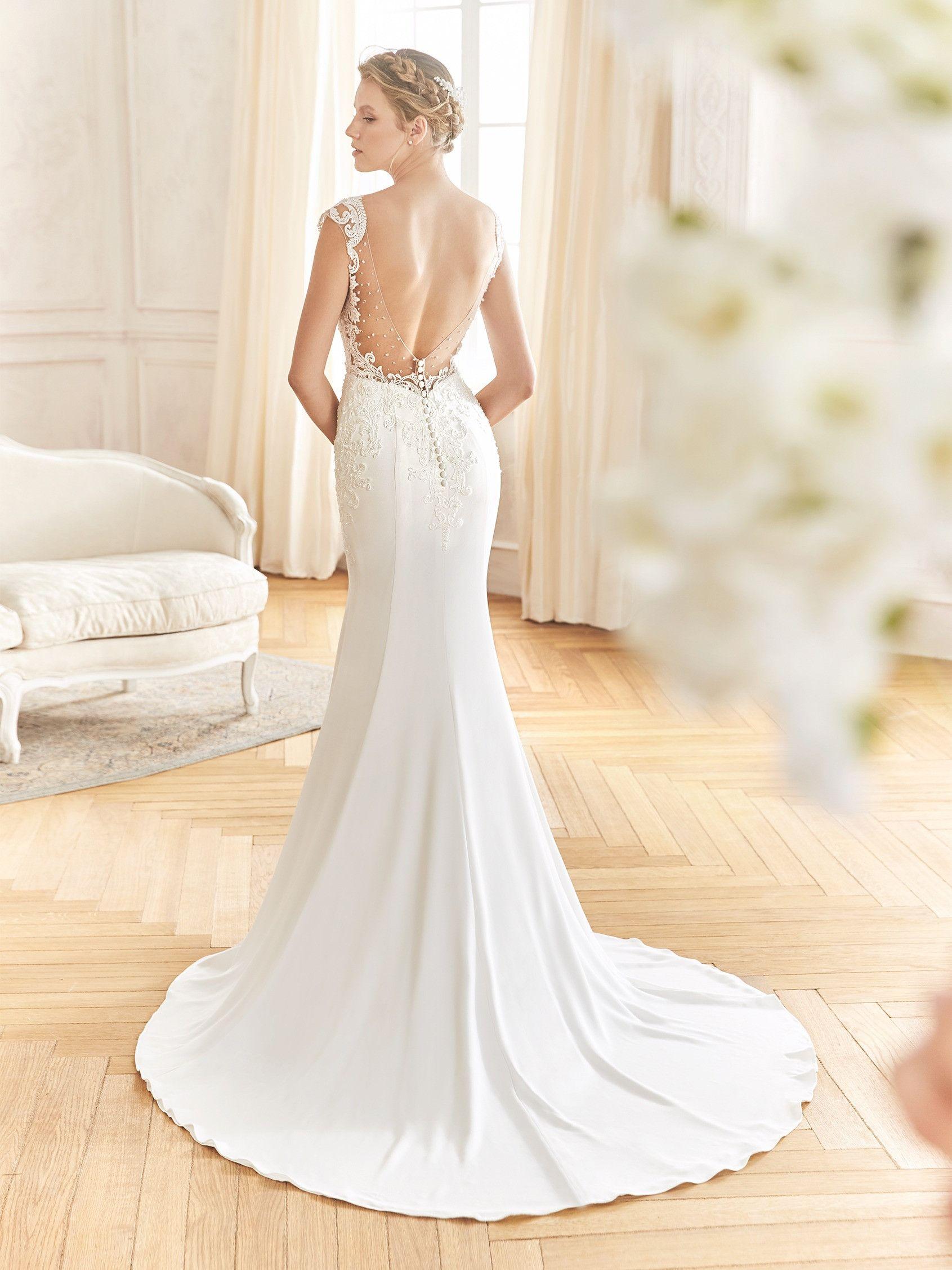 Trouwjurk La Sposa Balanza Een sexy en elegante trouwjurk van het merk La  Sposa. De 36103a640b7a