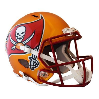Riddell Tampa Bay Buccaneers Blaze Revolution Speed Full-Size Replica  Football Helmet c43775451