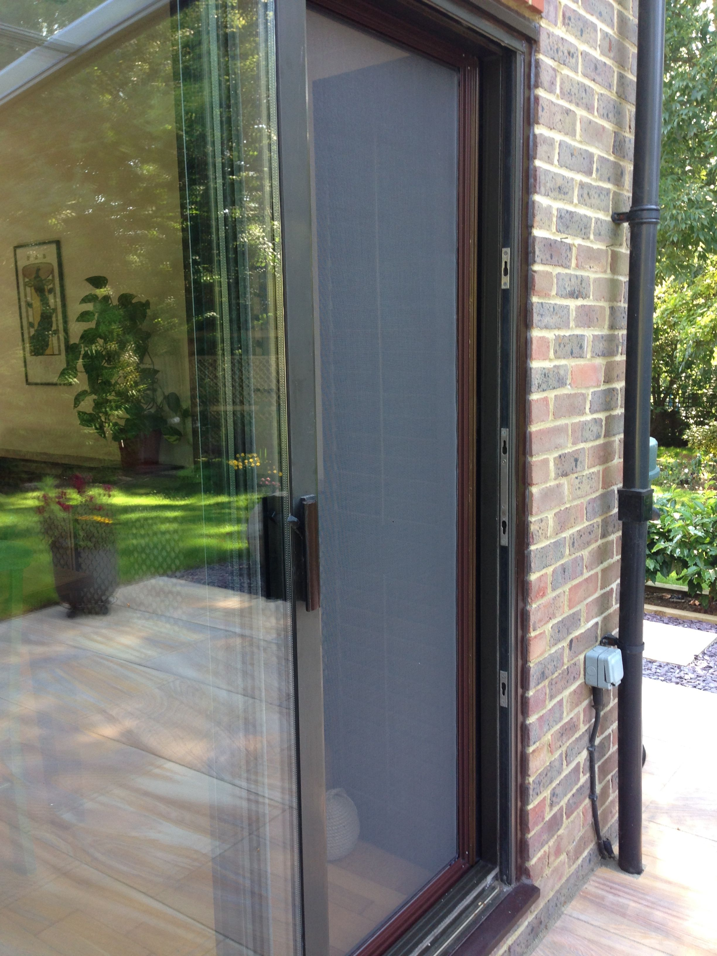 Corner Star Sliding Flyscreen Door Kent Decor Insect Screening Home Decor