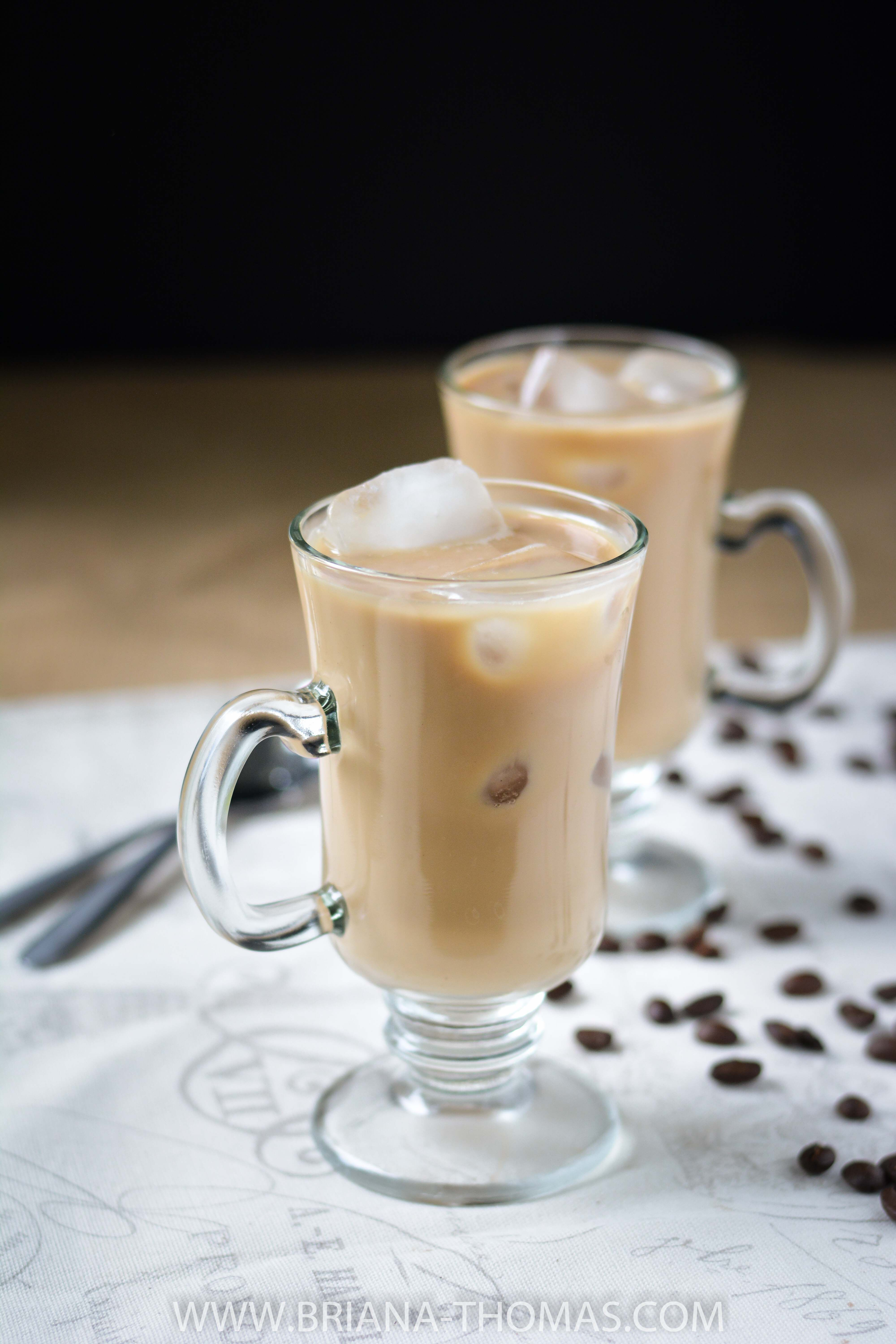 Refrigerator Iced Coffee Recipe Sugar free, Coffee