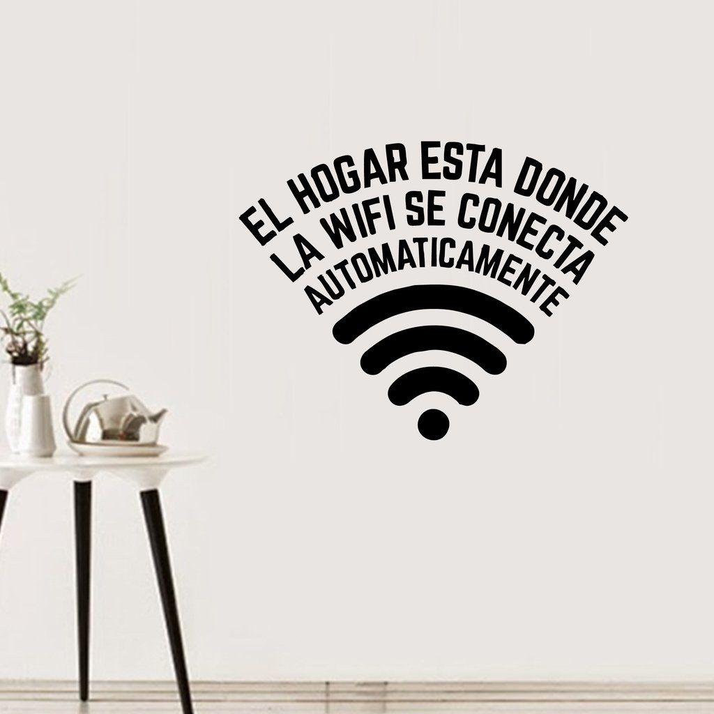 Fr30 el hogar est donde la wifi se conecta for Donde se venden los vinilos decorativos