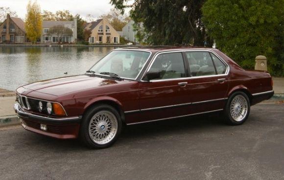 1984 BMW 745i Turbo For Sale Side
