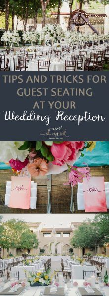 Guest Seating Wedding Reception Planning Dream Weddings