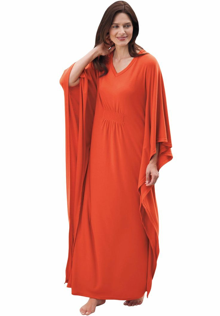 Caftan Loungewear Plus Size Gown Long Caftan By Only Necessities