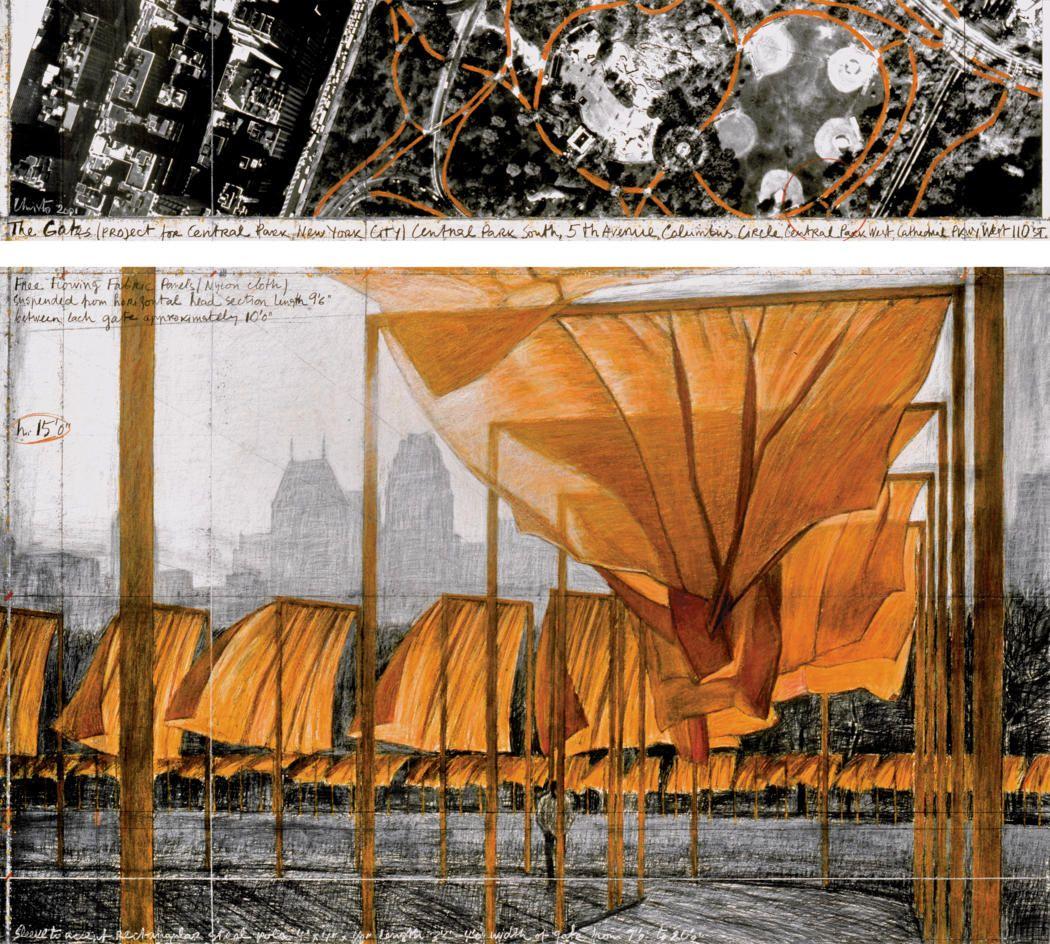 Christo The Gates 3 Land art, Christo, jeanne claude