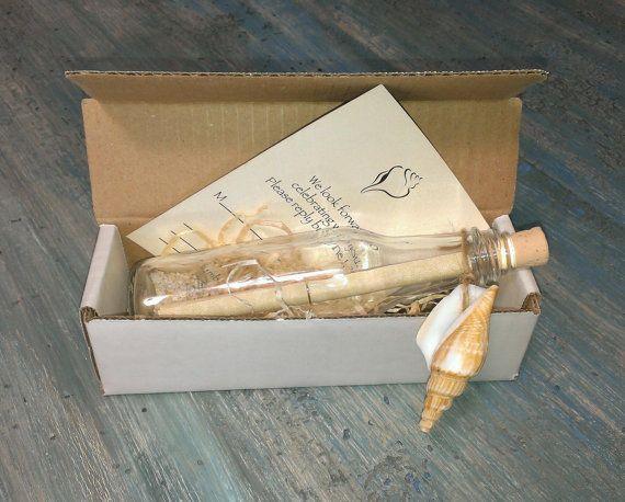 Wonderful Like Message In Bottle Idea. 50 Message In A Bottle Wedding Invitations Box  By SoPreshSoChic
