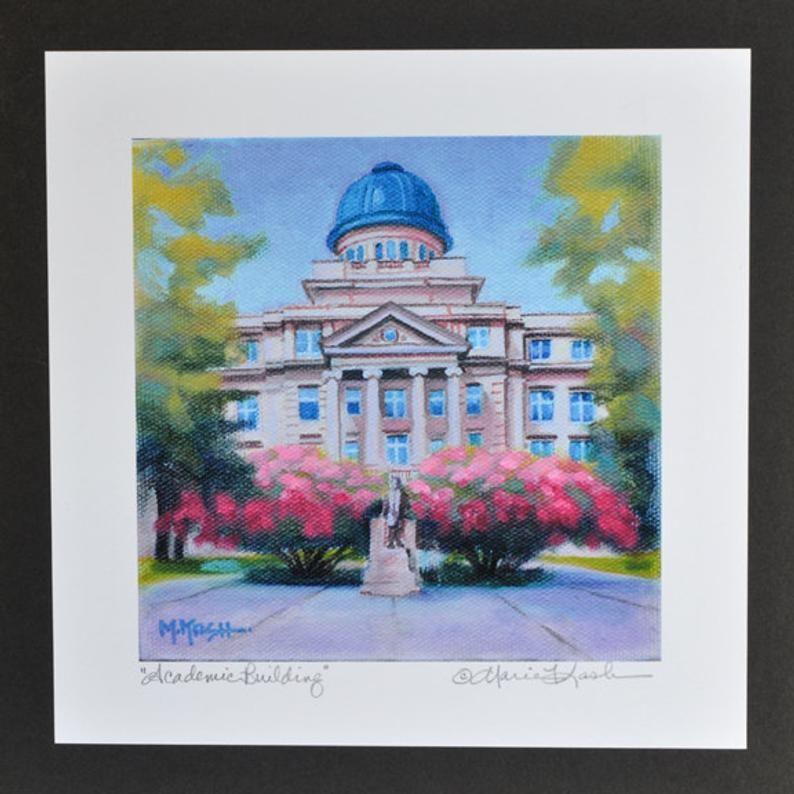 TEXAS A&M Print / College Art Print / Texas A and M Fine Art | Etsy