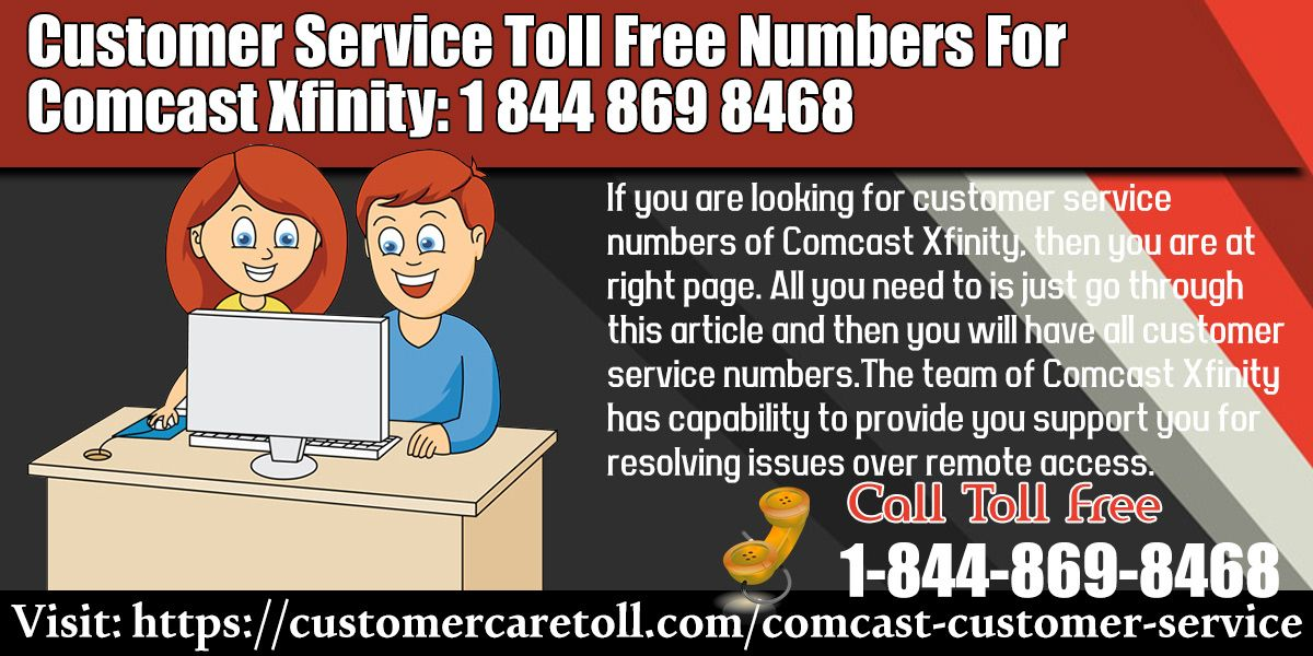 If you are looking for customer service numbers of Comcast