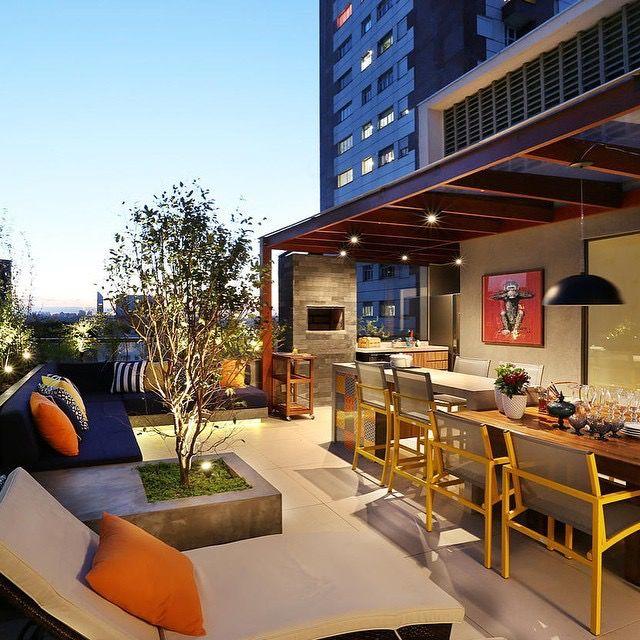 Pin de daniele forlani en exteriores pinterest moderno for Patios exteriores de casas