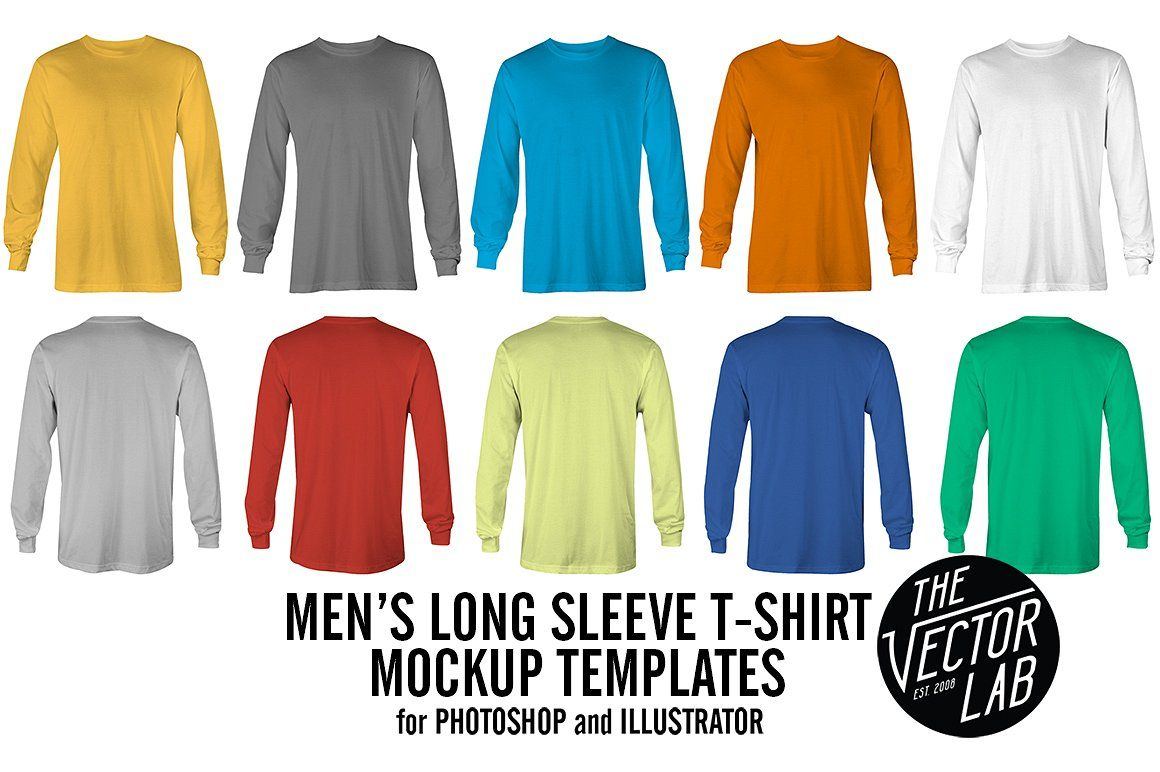 Download Men S Apparel Mockup Template Bundle Clothing Mockup Shirt Mockup Long Sleeve Tshirt