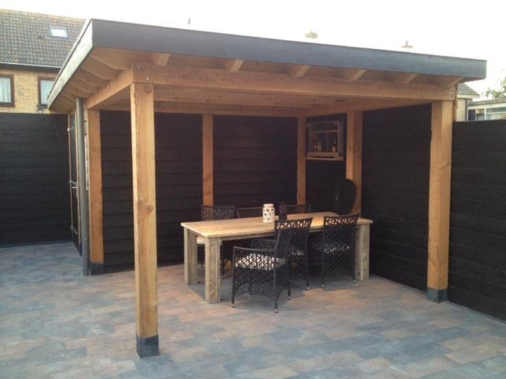 overkapping maken aan schuur google zoeken veranda pinterest verandas and concrete. Black Bedroom Furniture Sets. Home Design Ideas