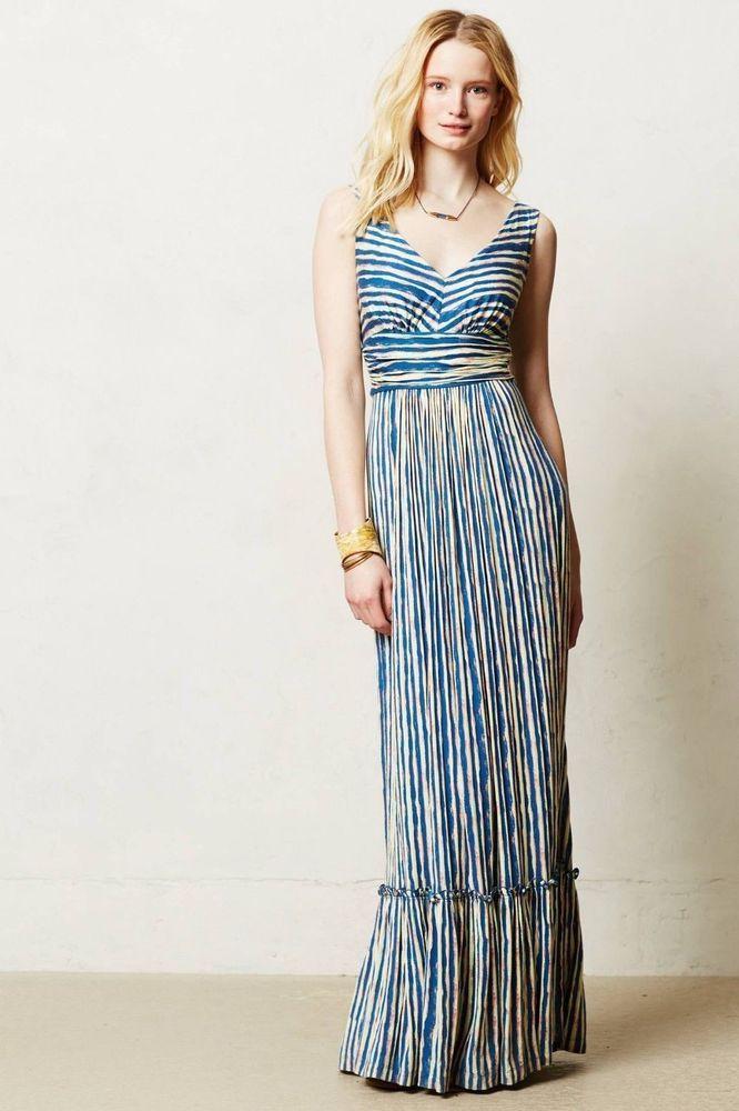 Nwt Plenty By Tracy Reese Catalina Jersey Maxi Dress Mp Tracyreese