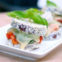 eggplant parmesan stacks recipes