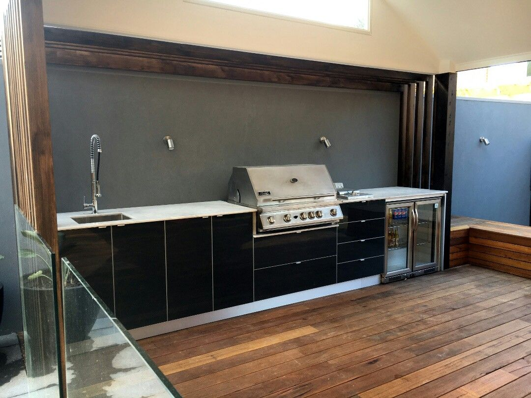 Don T Need Sink But Wine Fridges Outside Might Be Good Outdoor Kitchen Small Tv Cabinet Entertainment Center Diy Plans