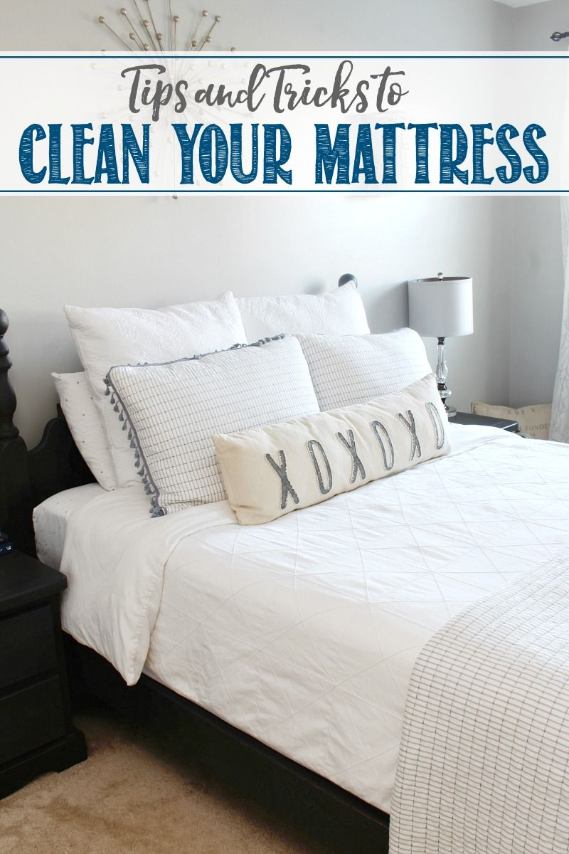 How to Clean Your Mattress Mattress cleaning, Cleaning