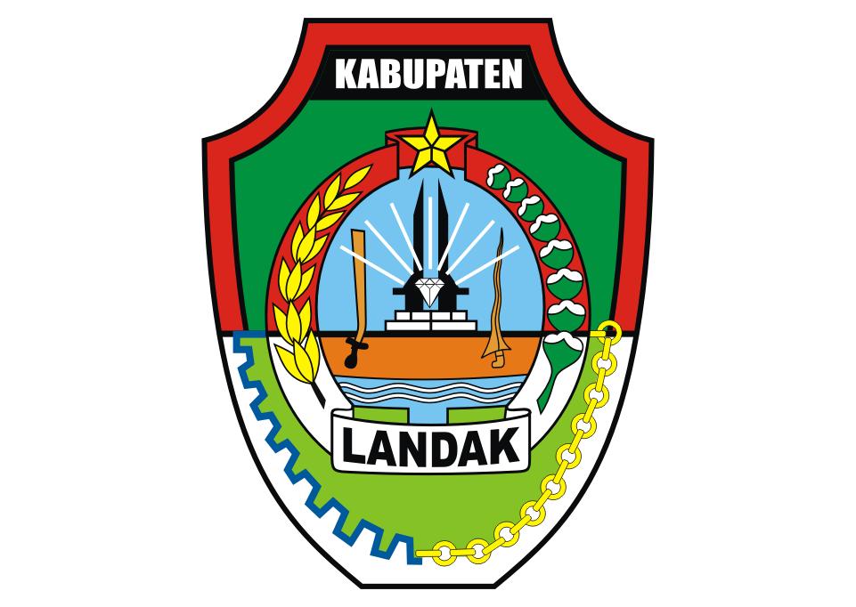 Logo Kabupaten Landak Vector Free Logo Vector Download Landak Desain Logo Desain