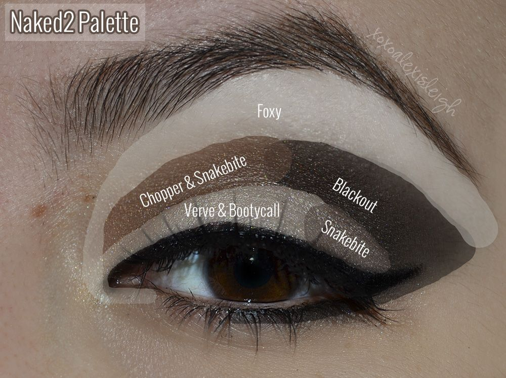 Tavolozza Trucchi ~ Naked2 palette slightly smokey makeup pinterest trucco