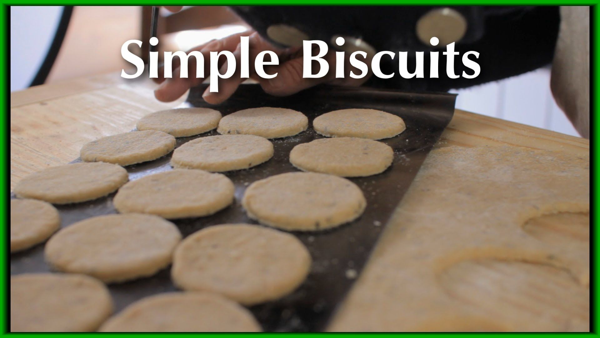 Simple Biscuits 18th Century Cooking Series S2e8 Biscuits Easy Medieval Recipes Colonial Recipe