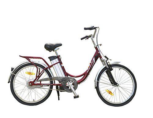 Yukon Trail Navigator Ii Sf24 Female Electric Bike Powered Bicycle With Lithium Battery Powered Bicycle Bicycle Electric Bike
