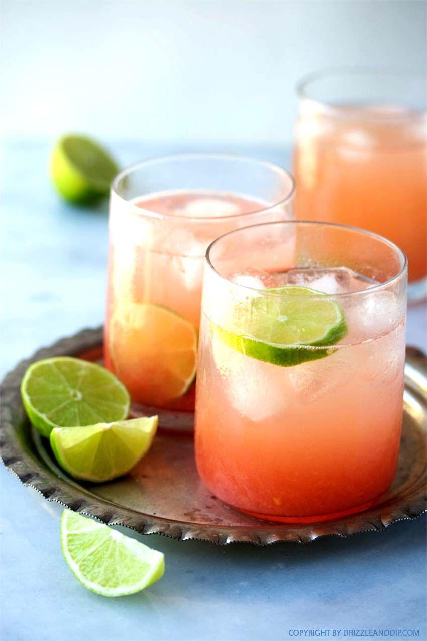Paloma: der Sommer-Cocktail aus Mexiko mit Tequila mit Grapefruitsaft