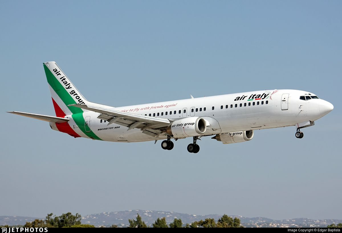 Photo Of I Aimr Boeing 737 430 Air Italy Boeing 737 Boeing Air