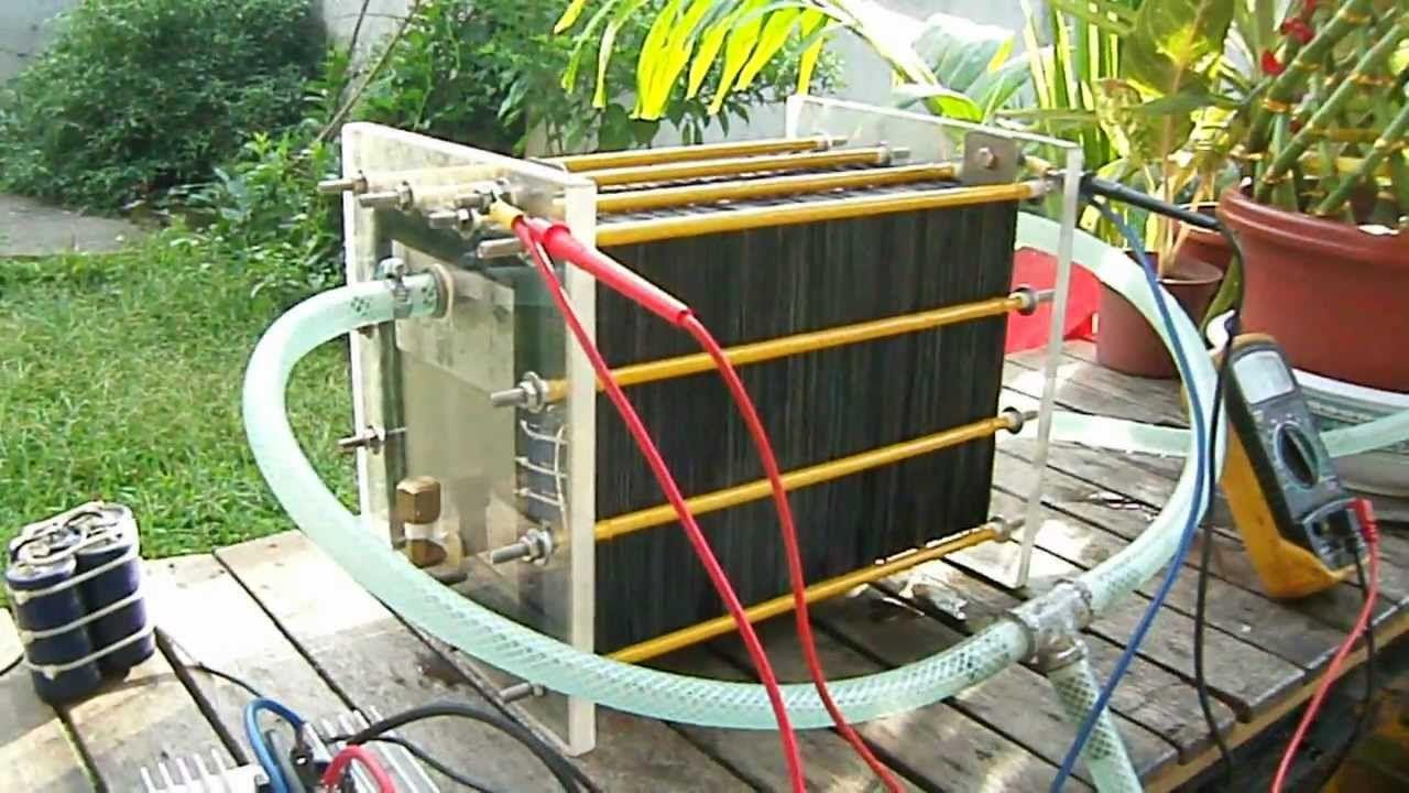 HHO Dry Cell Hydrogen Generator
