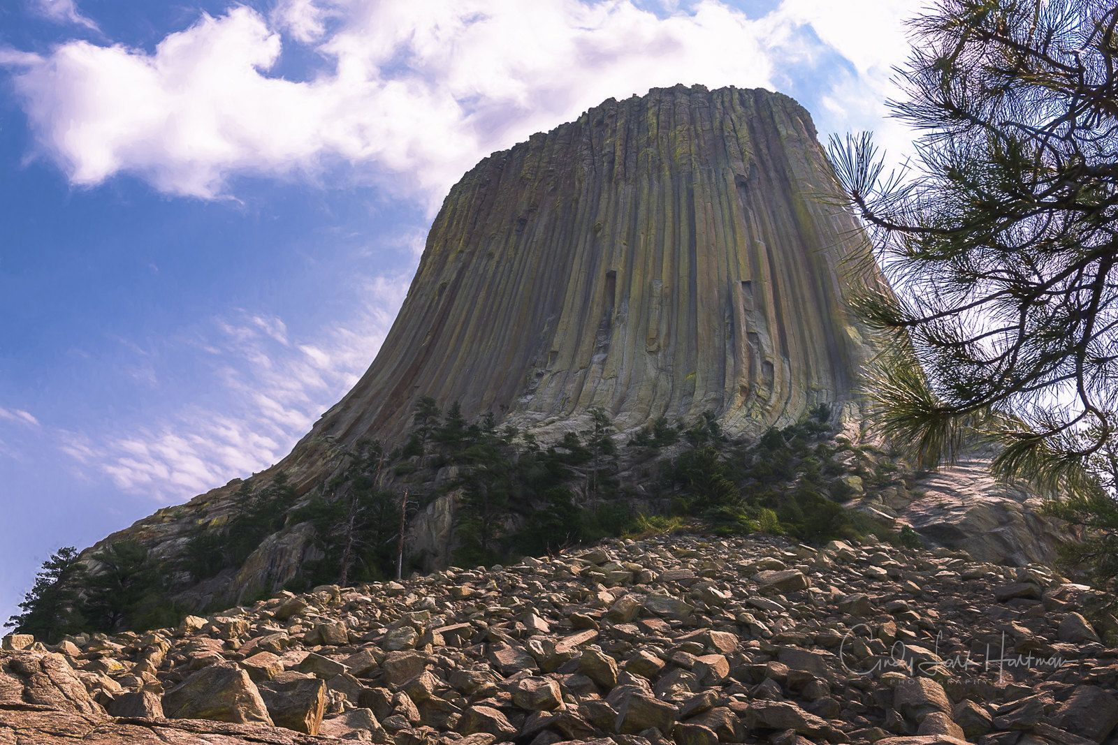Devils Tower Stand Up For Yourself Tower Stay Strong