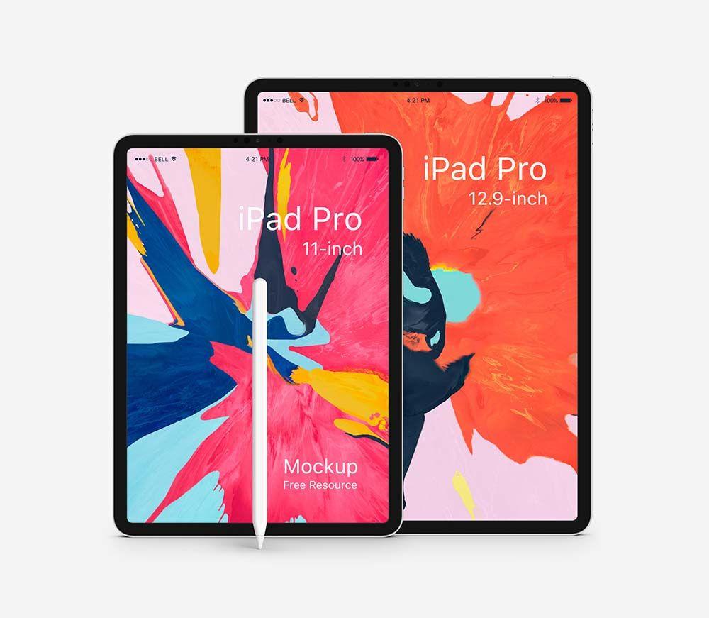 Free Psd Ipad Pro Mockup Mockuptree Free Ipad Ipad Pro Ipad
