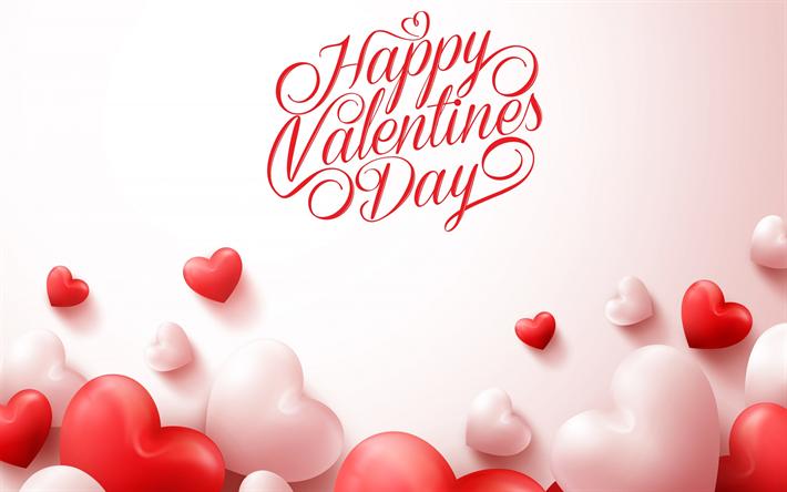 Fondo De Pantalla Dia De San Valentin Regalo Con Rosa: Descargar Fondos De Pantalla Feliz Día De San Valentín