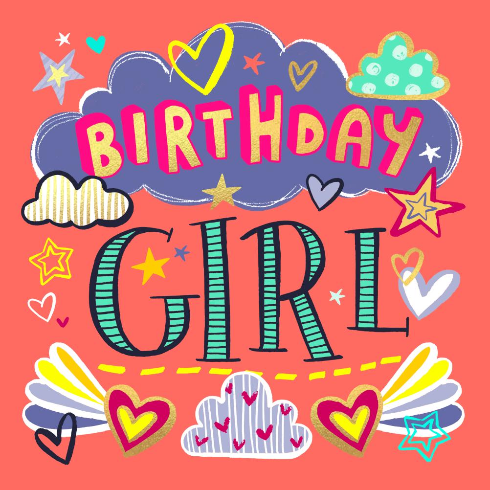 Birthday girl Birthday Card (Free) Greetings Island