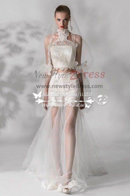 a9e8e6e960d5 Nifty lace pants wedding dress New arrival wps-016
