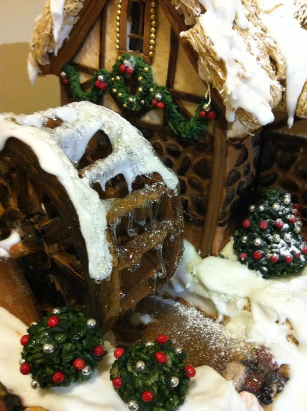 the water wheel of my gingerbread mill