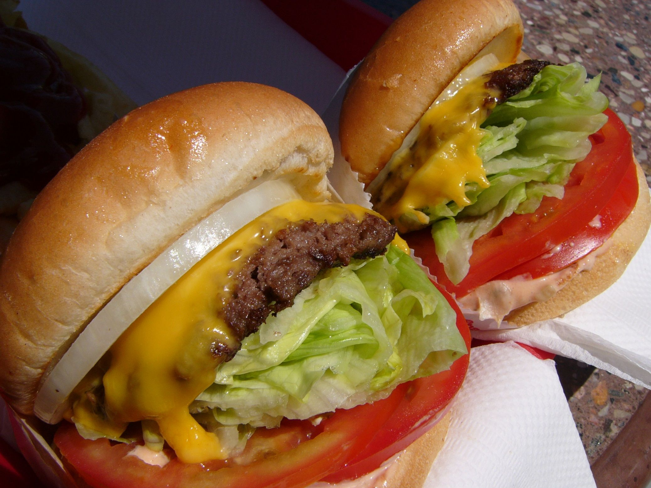 In-N-Out Cheeseburgers