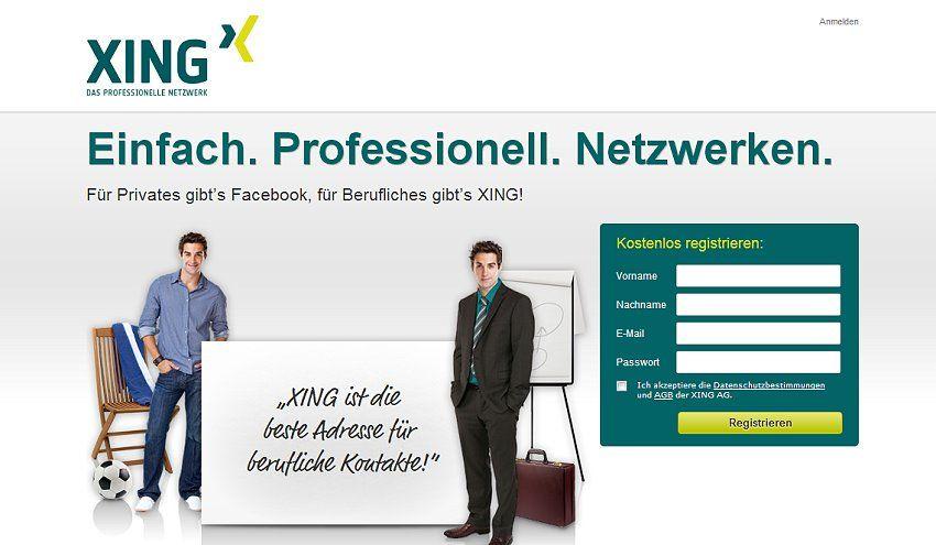 Xing Und Linkedin Karriere Netzwerke Richtig Nutzen Bewerbung