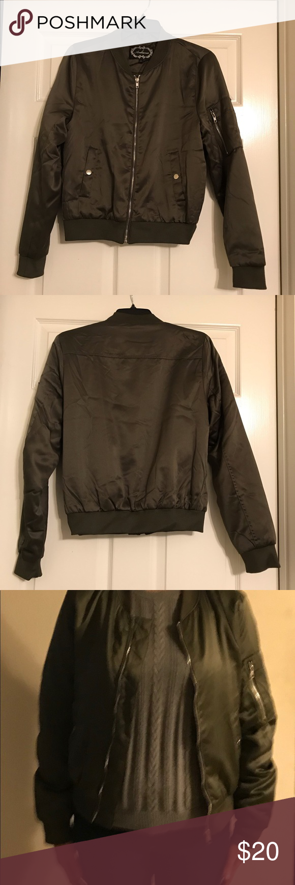 Green Bomber Jacket Warm Olive Green Bomber Jacket Very Comfy Only Used Once Excellent Conditio Green Bomber Jacket Olive Green Bomber Jacket Bomber Jacket [ 1740 x 580 Pixel ]