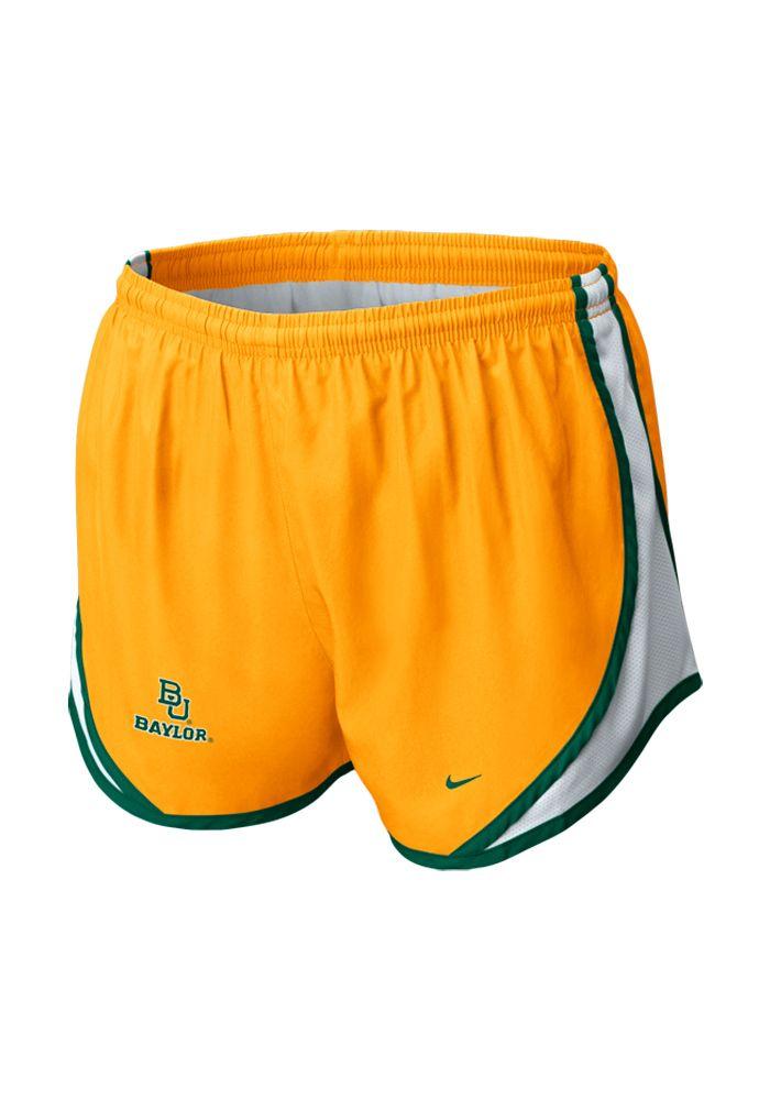 a91dcfee9be5 Baylor Bears Women s Nike Gold Tempo Shorts