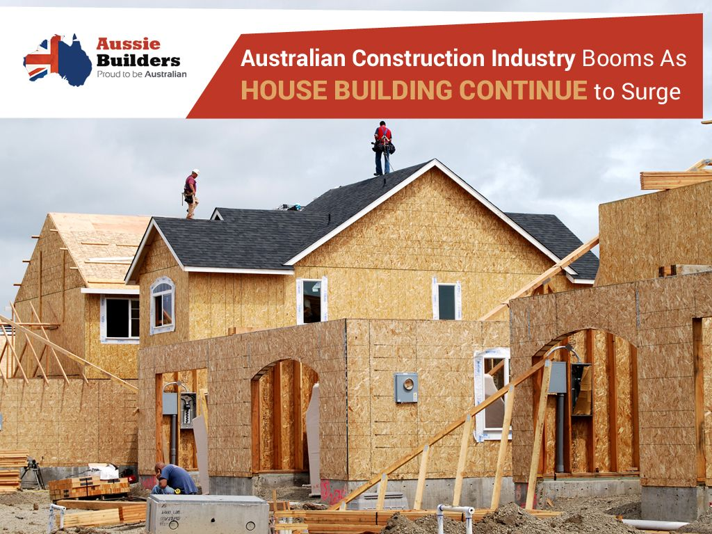 Australian construction industry booms as house building