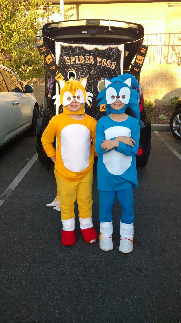 Is Sonic Having A Deal On Halloween 2020 Sonic & Tails Halloween costumes | Sonic the hedgehog halloween