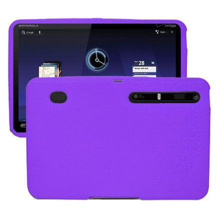 Soft Shell (Violetti) Motorola XOOM Silikonisuojus