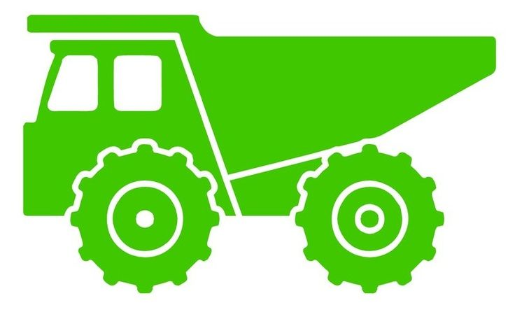 dump truck silhouette - Google Search | Flourishes and ...