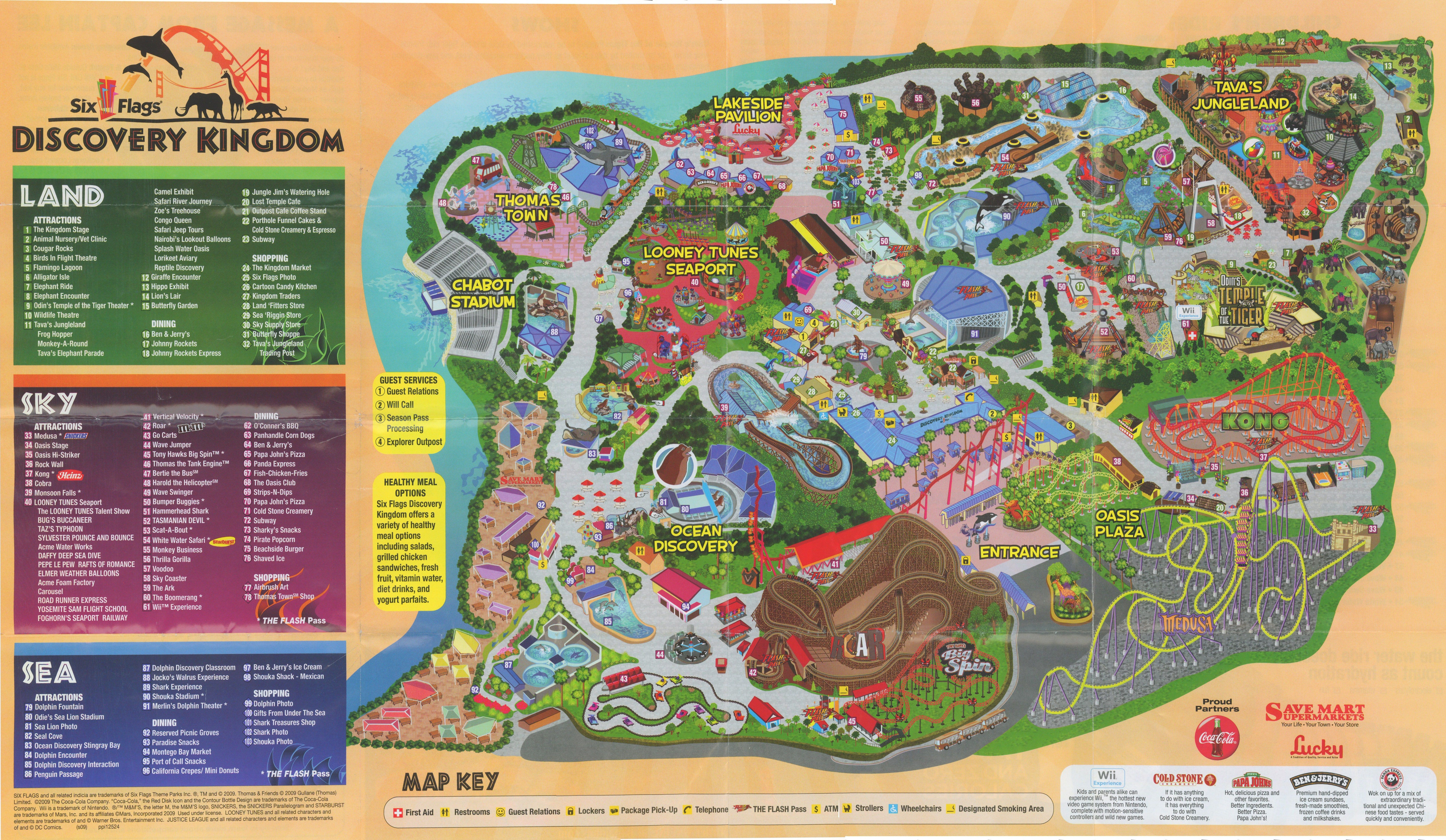 Six flags discovery kingdom vallejo coupons 2018