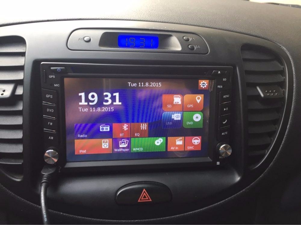 Free Shipping 2 Din Universal 6 2 Touch Screen Car Stereo Radio