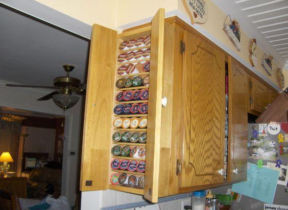 Keurig k-cup and vue cup holder or storage cabinet | Keurig ...