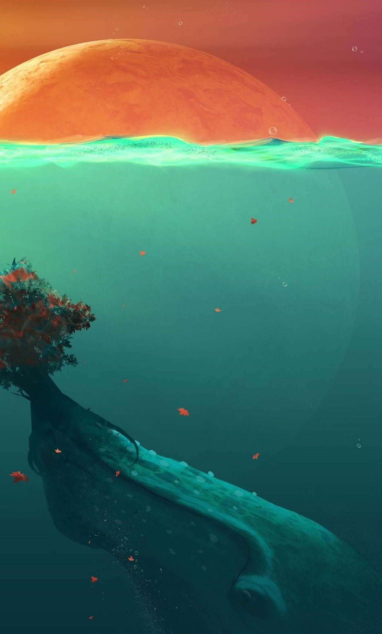 Deep Water Wallpaper 616435 Iphone 7 Wallpapers World