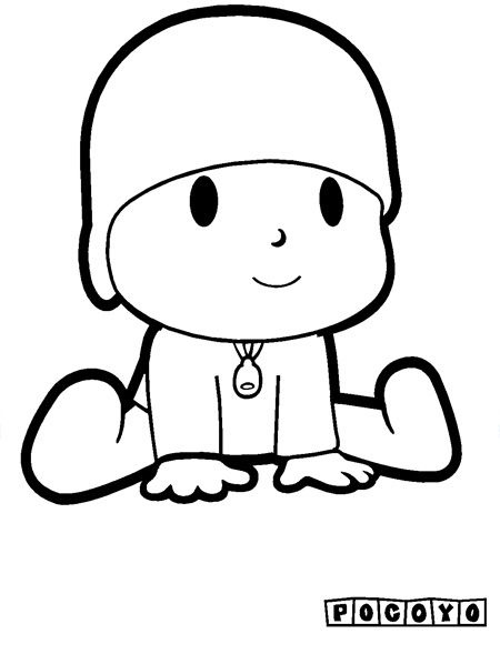 Pocoyo Paginas Para Colorear Best Coloring Pages For Kids Free Kids Coloring Pages Coloring Pages For Kids Baby Coloring Pages
