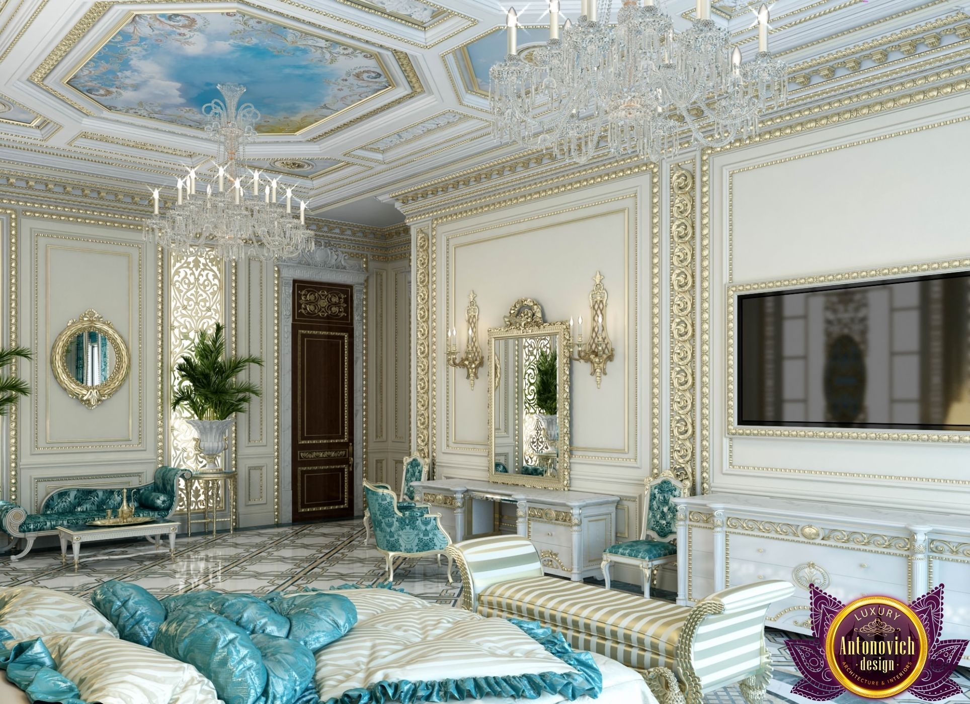 Master bedroom in dubai master bedroom design ideas for Dubai decoration interieur