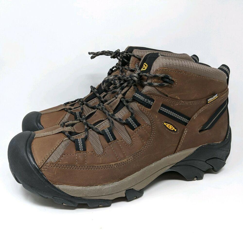 Keen Men S Hiking Boots Targhee Ii Waterproof Mid Size 15 Keen